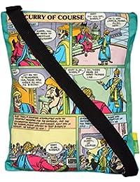 Eco Corner Women's Sling Bag (Multi-Coloured, 4229)