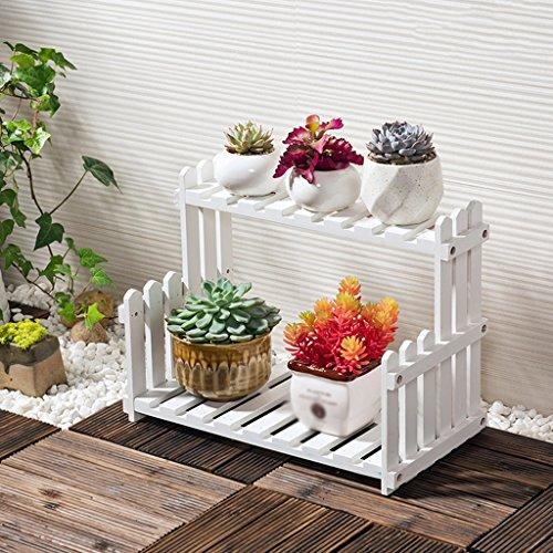 Stand De Fleur Solide Bois Salon Balcon Floorstanding Fleur Pot Rack Intérieur Simple Étagère De Plantes etagere pour (taille : 50 cm)