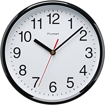 Plumeet Kids Wall Clock 10 Quot Silent Non Ticking Quality