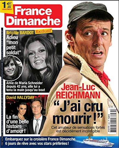 France Dimanche n° 3363 - Jean-Luc Reichmann / Brigitte Bardot / Frédéric François