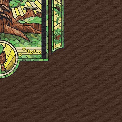 Planet Nerd - The Boy without a Fairy - Herren T-Shirt Braun