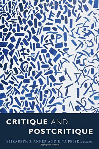 Price comparison product image Critique and Postcritique