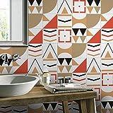 JY ART Wand-Aufkleber Küche Deko Badezimmer-Gestaltung - Küchen-Fliesen überkleben - Dekorative Bad-Gestaltung - Fliesen-Aufkleber 20cmx5m HB020, 20cm*5m