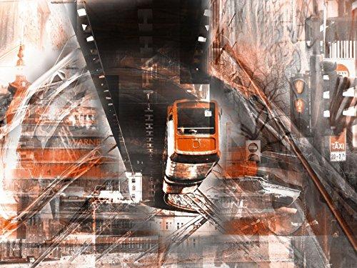 Artland Leinwand auf Keilrahmen oder gerolltes Poster mit Motiv Nettesart Wuppertal Skyline...