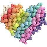 Micacorn Ballon Pastel 100PCS Ballon Macaron Ballon Couleur Pastel Latex pour Mariage Partie de Remise des Diplômes Décoratio