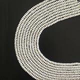 5-6mm Rondelle Perla d' acqua Dolce Naturale Gioielli di Perline Distanziatore per Creare di Gioielli Circa 38cm un Filo