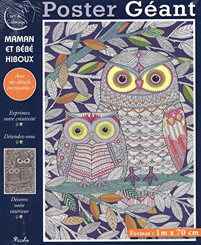 Maman et bb hiboux : Poster gant