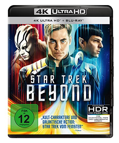 Star Trek 13 - Beyond (4K Ultra HD) (+ Blu-ray)