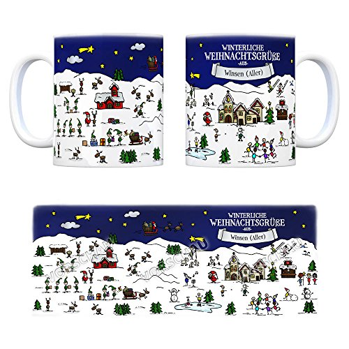 Winsen (Aller) Weihnachten Kaffeebecher mit winterlichen ...