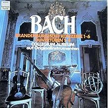 J.S. Bach: Brandenburgische Konzerte 1-6 (gespielt auf Originalinstrumenten) [Vinyl Schallplatte] [4 LP Box-Set]