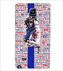 PrintDhaba Typography D-4265 Back Case Cover for SAMSUNG GALAXY NOTE 2 (Multi-Coloured)