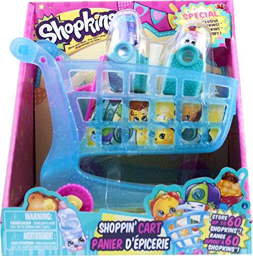 g Shoppin Cart XL 2 Exclusive Season 3 Push N Play Holds 60 Shopkins by Moose ()