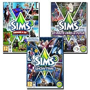 Sims 3 Animaux & Cie + Showtime + Retour vers le futur