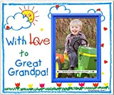 With Love to Great Grandpa! - Picture Frame - Best Reviews Guide