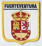 Fuerteventura Canarino Islands Spagna Spagnolo Ricamato usato  Spedito ovunque in Italia