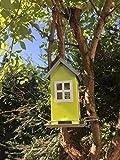 Vogelhaus zum aufhängen - Vogelhäuschen aus Metall
