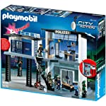 Playmobil 5176Police Command Station with Alarm System