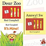Rod Campbell Collection 3 Books Bundle With Gift Journal (Dear Zoo, It's Mine!, Annwyl Sw/Dear Zoo [Hardcover])