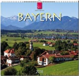 BAYERN: Original Stürtz-Kalender 2018 - Mittelformat-Kalender 33 x 31 cm -