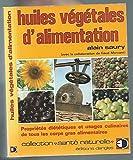 Huiles végétales d'alimentation (2ème édition)