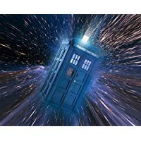 MOUSE MAT featuring an image of the Tardis