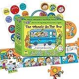 fürMusic For Kids Puzzle Aktivitäts-Pack Kinder Innen- lustige Spiele Melodie puzzle - Die Räder On The Bus