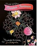 Scratch & Relax: Mandala-Fantasien: Traumhafte Kratzbilder zum Entspannen - mit Holz-Stick (Scratch & Relax / 15 Scratch Motive mit fantastischen Farbeffekten) -