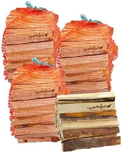 mumba-Anfeuerholz ungefähr 12 kg Fichte/Kiefer, ungefähr 15-18{df2e7f9b065784112014ef21071b99dfc93397c8defa2f03121eabaa9e07077c} Restfeuchte