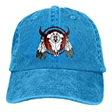 Best Buffalo Arrows - zengjiansm Native American Buffalo Skull Arrowhead Indian Denim Review
