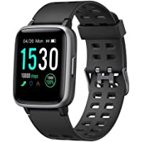 Willful Smartwatch,Fitness Armbanduhr mit Pulsuhr Touchscreen Fitness Uhr IP68 Wasserdicht Fitness Tracker Sportuhr mit…