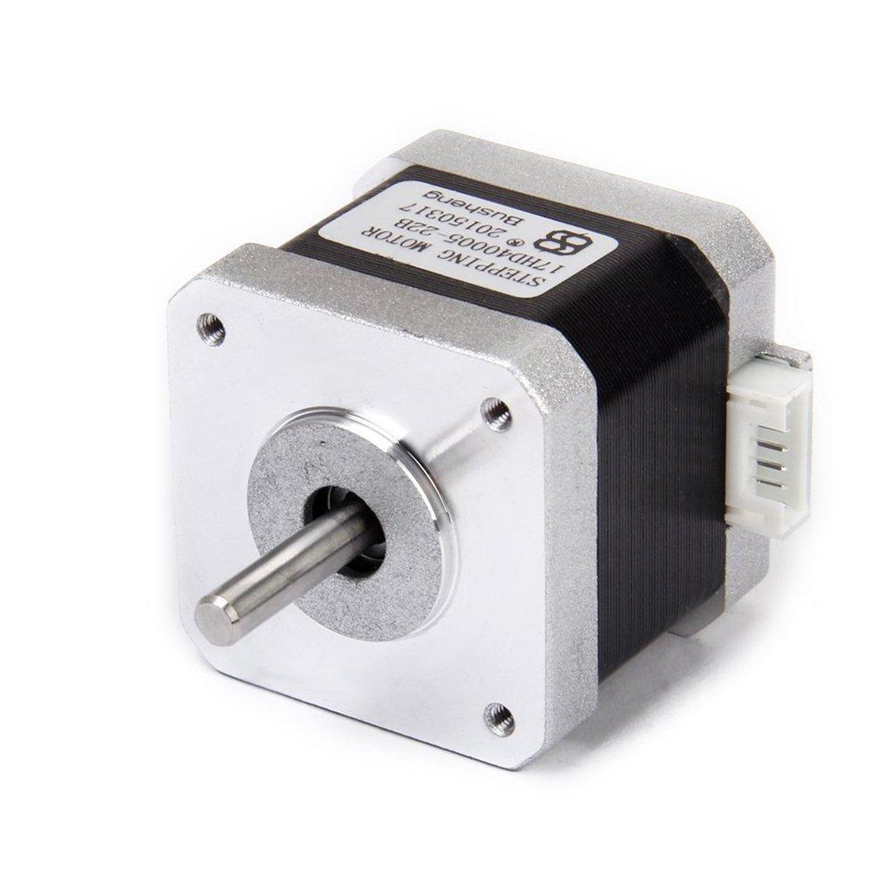 LEORX NEMA 17 2 Phase 4-Draht 1.5A 40 mm 1,8 ° Schrittmotor für 3D ...