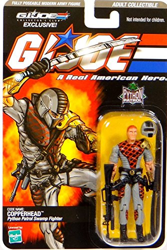 Preisvergleich Produktbild G.I. Joe Python Patrol Swamp Fighter Codename: Copperhead - G.I. Joe Club Exclusive - Actionfigure 2008 von Hasbro
