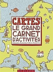 Cartes : le grand carnet d'activités