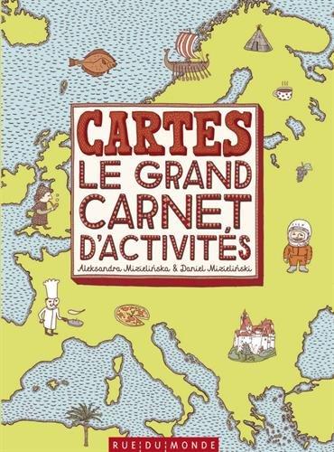 Cartes : le grand carnet d'activits
