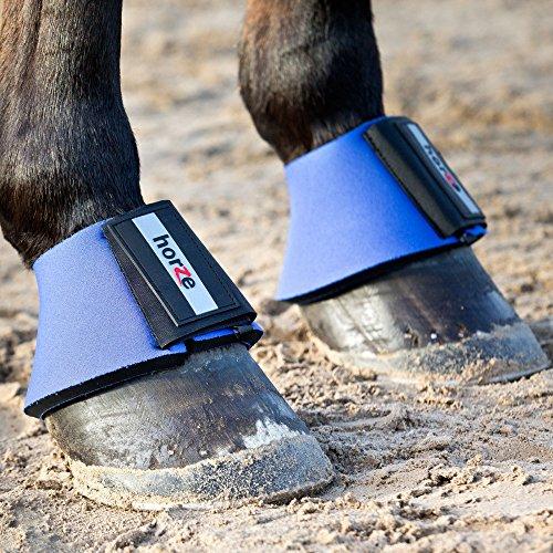 horze Pro Bell Stiefel - blau(B), XX-Large (Komfort Stiefel)