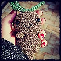 Amigurumi Handmade Mandragola Harry Potter
