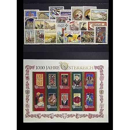 Goldhahn Österreich 1996 postfrisch ** Nr. 2177-2207 Block 12 Briefmarken für Sammler