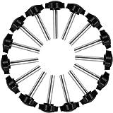 15 Stks M8 x 40mm Duim Schroefdraad Vervanging Ster Handknop Aanscherping Schroef Mannelijke Draad Klemmen Schroef