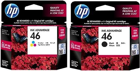 HP 46 Combo Inkjet Print Cartridges (Black/Tri-color)