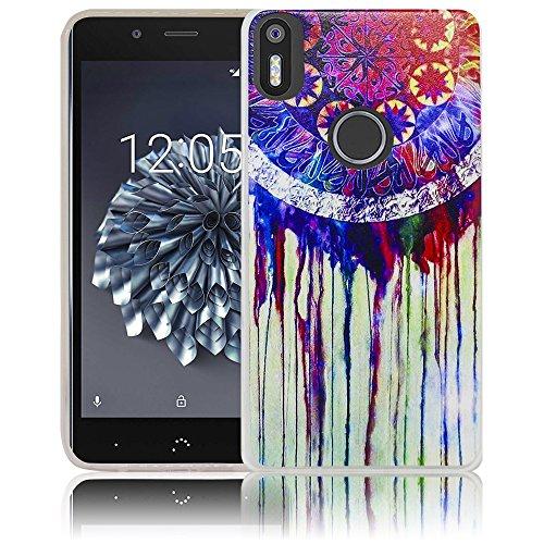 bq Aquaris X5 Plus Passend Traumfänger Handy-Hülle Silikon - staubdicht, stoßfest und leicht - Smartphone-Case