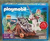 Playmobil 5836 - Grüner Ritter mit beweglicher Kanone