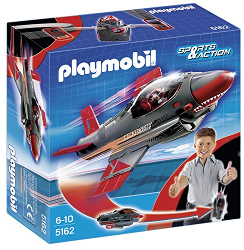 Playmobil Click & Go - Shark jet (5162)