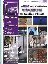 France Culture Papiers, N° 1, La première radio à lire