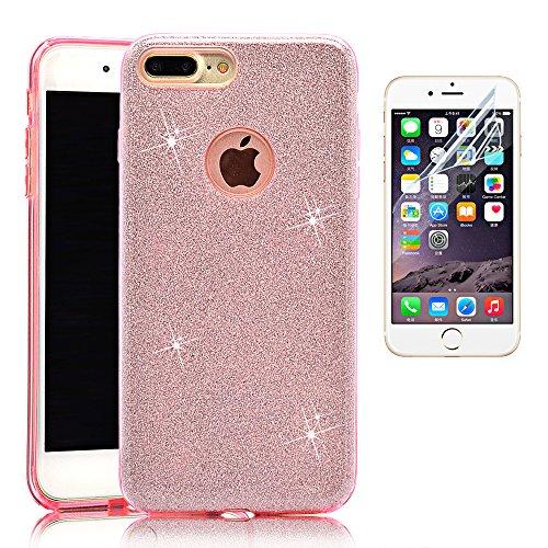 tpu-diamante-funda-para-iphone-7-plus-55-sunroyal-r-3-en-1-carcasa-ultra-slim-glitter-bling-brillo-l