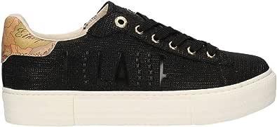 ALVIERO MARTINI Sneakers da Donna Geo con Scritta 1a Classe Colore Nero