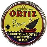 Conservas Ortiz Bonito del Norte weißer Thunfisch in Olivenöl, 1er Pack (1 x 158 g)