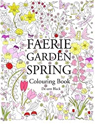 Faerie Garden Spring: Colouring Book