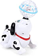 Jannat Dancing Dog with Music Flashing Lights (Without Battery).