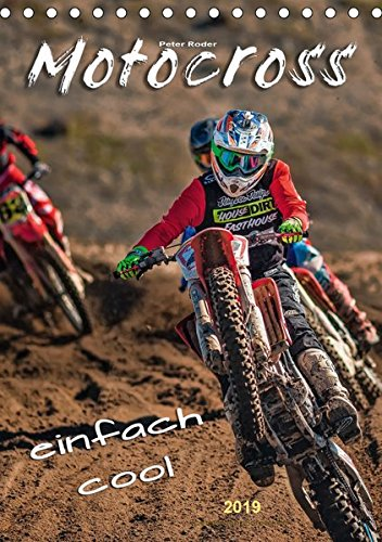 Motocross - einfach cool (Tischkalender 2019 DIN A5 hoch): Motocross - faszinierender Extremsport mit spektakulären Sprüngen (Monatskalender, 14 Seiten ) (CALVENDO Sport)