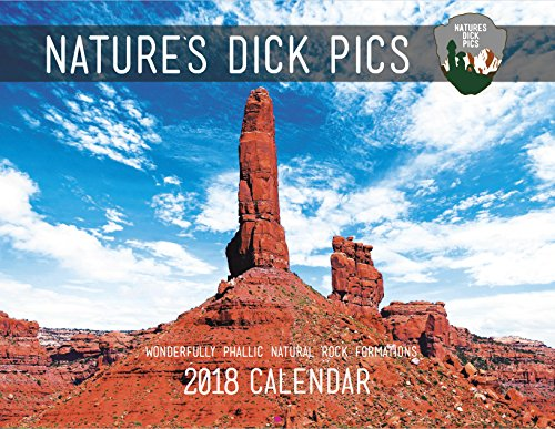 Nature' s Dick Pics 2018 calendario da paret